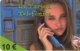 TARJETA TELEFONICA DE ESPAÑA, (PREPAGO) 151. - España