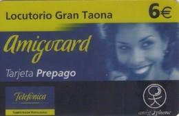 TARJETA TELEFONICA DE ESPAÑA, (PREPAGO) 123. - España