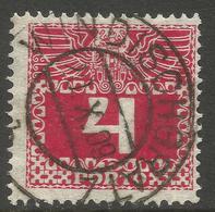 AUSTRIA / STYRIA / SLOVENIA. 4h POSTAGE DUE. WINDISCHGRATZ POSTMARK - 1850-1918 Empire