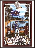 Australia  -  200 Years  -  Ansichtskarte Ca.1988    (10398) - Australien