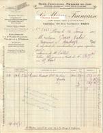 Document Du 26/092/1912 LA MORUE FRANÇAISE Paris 75 - France