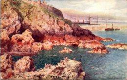 Tucks Picturesque Nooks The Bathing Place Douglas 1908 - Tuck, Raphael