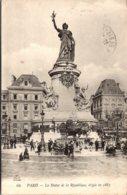 France Paris La Statue De La Republique 1916 - France