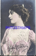 114431 ARTIST LINA CAVALIERI ITALY 1874 – 1944 ACTRESS & SINGER OPERA SOPRANO PHOTOGRAPHER REUTLINGER POSTAL POSTCARD - Celebridades