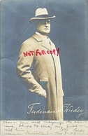POST CARD  FERDINAND  WIEDEY  REAL   PHOTO  Used - Autographs