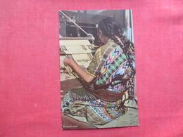 Indian Weaver    Guatemala  Ref 3435 - Guatemala