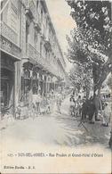 SIDI-BEL-ABBES : Rue Prudon Et Grand Hôtel D'Orient - Sidi-bel-Abbès