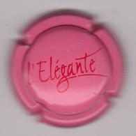Capsule Champagne CHARLES-HESTON 6 COTEAUX ( 5 ; Cuvée L'ELEGANTE Rose Et Rouge ) {S26-19} - Champagne