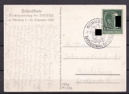 DEUTSCHES REICH Nr 672 PROPAGANDA Mit SST V. 7.9.1938 REICHSPARTEITAG - Briefe U. Dokumente