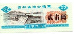 CHINE  Billet 0,2 Yuan Bank Banque Monnaie - Année 1975 (P) - China