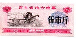 CHINE  Billet 5 Yuan Bank Banque Monnaie - Année 1975 (P) - China