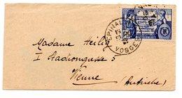 """Frankreich, 1937, Briefkuvert Mit SM """"150 Jahre Verfassung D.Ver.Staaten V.Amerika"""", MiNr. 362, Gestempelt (16059W) - Briefe U. Dokumente"""