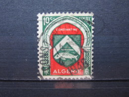 """VEND BEAU TIMBRE D ' ALGERIE N° 254 , OBLITERATION """" CONSTANTINE """" !!! - Used Stamps"""