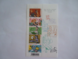 België Belgique 2007 Schrijfmachines Machines à écrire Ever Meulen Planche 1 BL 148 3710-3714 Yv 3691-3695 MNH ** - Blocks & Sheetlets 1962-....