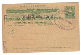 18932 - Entier  Avec  Illustration - Nicaragua