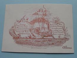 Mariage De Léonard MAERE Gand & LOONTJENS Barbe Nevele ( Porcelein Porcelaine Porzellan Porcelana > Zie / Voir Photo ) ! - Mariage