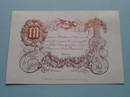 Mariage De Jean ROMMEL & THIELEN Marguerite ( Porcelein Porcelaine Porzellan Porcelana > Zie / Voir Photo ) ! - Mariage