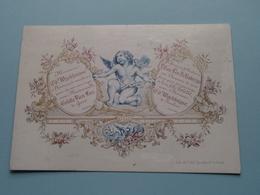 Mariage De Mr. Ed. WIJCKHUIJSE & Colette VAN LOO Gand ( Porcelein Porcelaine Porzellan Porcelana > Zie / Voir Photo ) ! - Mariage