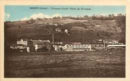 #260619 - 42 REGNY Usine Du Forestier Crayons CONTE - Industrie - Industrie