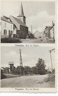 TONGRINNE   Rue De L' église Et Rue Du Moulin. - Sombreffe