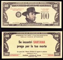 """FOGLIETTO PUBBL. FILM """" SE INCONTRI SARTANA PREGA PER LA TUA MORTE"""" 1968 (1/40) - Pubblicitari"""