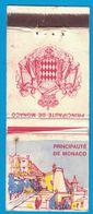 POCHETTE SANS ALLUMETTES REGIE MONEGASQUE DES TABACS / PRINCIPAUTE DE MONACO - Boites D'allumettes