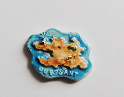Fève MH Pièce Puzzle Ile D'Ouessant Bretagne - DD - Geluksbrengers