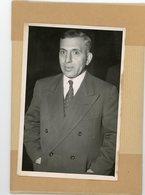 Photo Originale  Le Colonel  ADIB SHISHAKLI  Ancien Président De La  SYRIE  à  ORLY En 1954 - Guerre, Militaire