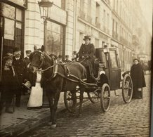 CAB MISS DUHANT ATTELAGE  11*11 CM Fonds Victor FORBIN 1864-1947 - Fotos