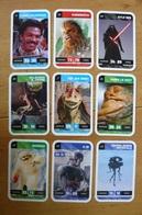 Star Wars - 9 Cartes Différentes Voir Scan - Jeu Leclerc - 1 - Jeux De Société