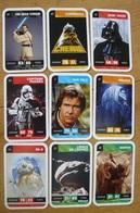 Star Wars - 9 Cartes Différentes Voir Scan - Jeu Leclerc - 2 - Jeux De Société