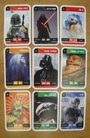 Star Wars - 9 Cartes Différentes Voir Scan - Jeu Leclerc - 3 - Other