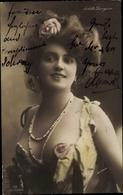 Cp Schauspielerin Arlette Dorgère - Acteurs
