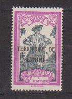 ININI       N°  YVERT  TAXE 9  NEUF SANS  CHARNIERES      ( Sch 01/29 ) - Unused Stamps