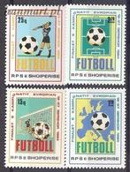 Albania 1984 Mi 2221-2224 MNH ( ZE2 ALB2221-2224 ) - Championnat D'Europe (UEFA)