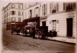 ATTELAGE   PARIS  18*13 CM Fonds Victor FORBIN 1864-1947 - Lugares