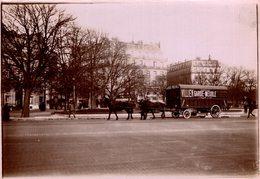 ATTELAGE   PARIS HOTEL MEYERBEEF VILLIEN GARDE MEUBLE  18*13 CM Fonds Victor FORBIN 1864-1947 - Lugares