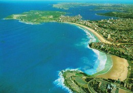 Aerial View Of Freshwater Beach & Manly, Sydney New South Wales - Unused, See Notes - Sydney