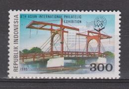Indonesia Indonesie 1636 MNH ; Bruggen, Brucke, Puente, Pont, Bridges 1995 - Bruggen