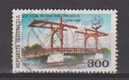 Indonesia Indonesie 1636 Used ; Bruggen, Brucke, Puente, Pont, Bridges 1995 - Bruggen