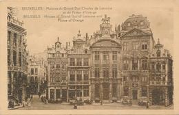 CPA - Belgique - Brussels - Bruxelles - Maisons Du Grand Duc Charles De Lorraine - Monuments, édifices