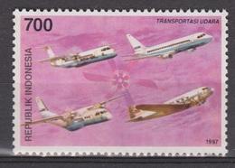 Indonesia Indonesie 1796 MNH PF ; Vliegtuig, Flugzeuge, Avion, Avion, Aeroplane 1997 - Aviones