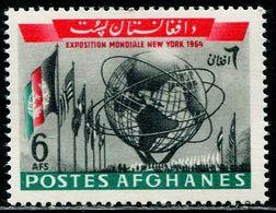 AFH403 Afghanistan 1964 New York World Expo Flag 1V MNH - Afghanistan