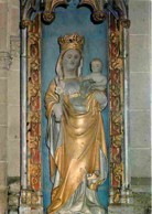 Art - Art Religieux - Kernascleden - N D De Kernascleden - Statue En Granit - Voir Scans Recto-Verso - Quadri, Vetrate E Statue