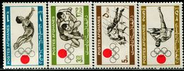 AFH405 Afghanistan 1964 Olympics Track And Field And Other 4V MNH - Afghanistan