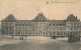 CPA - Belgique - Brussels - Bruxelles - Caserne Baudouin - Place Dailly - Monuments, édifices