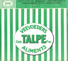 Kalender 1960 - Veevoeders Talpe Kortrijk - A. Roets Maldegem - Jambart Sterrebeek - Varken Uit Koekelare Jabbeke - Calendriers
