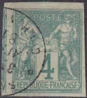 Colonies Générales - N° 25 (YT) N° 26 (AM) Type I Oblitéré De Saigon. - Sage