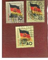 GERMANIA EST (EAST GERMANY) (DDR) - SG E456 - 1959 10^ ANNIVERSARY OF DDR   -  USED - Usati