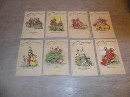 Beau Lot De 8 Cartes Postales De Belgique  Bruges  Tournoi De L' Arbre D' Or      Mooi Lot Van 8 Postkaarten Van Brugge - Cartes Postales